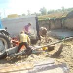 Voorbereiden waterwerk